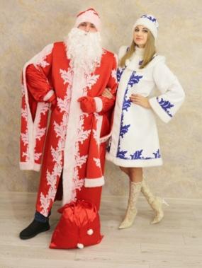 Дед Мороз, Снегурочка